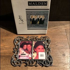 Other - Malden Pewter Double Frame NEW in box!!!